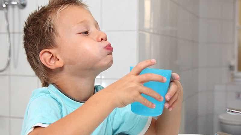 Полоскание рта раствором
