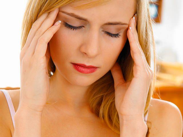 Мигрень - побочный эффект от антибиотиков при флюсе