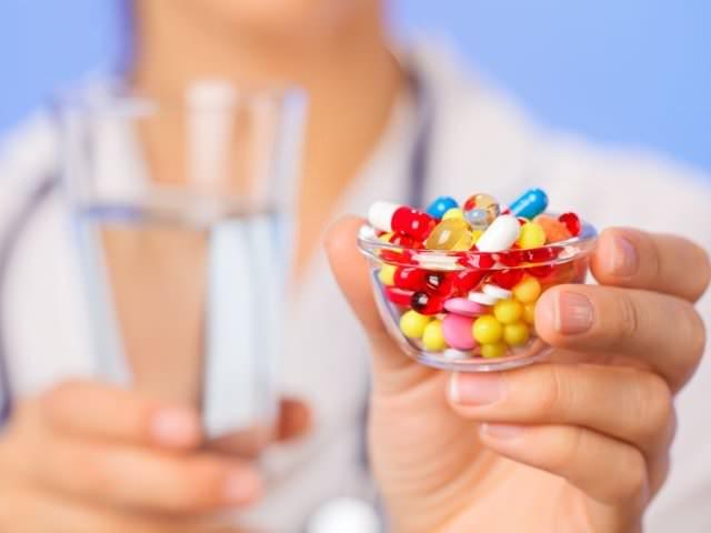 Антибиотики в виде таблеток
