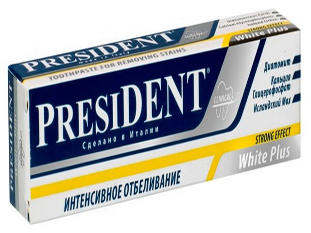 PRESIDENT White Plus