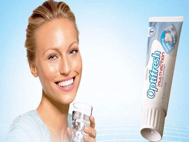 зубная паста optimfresh