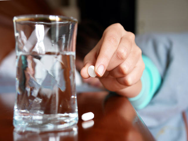 Правила приема таблеток